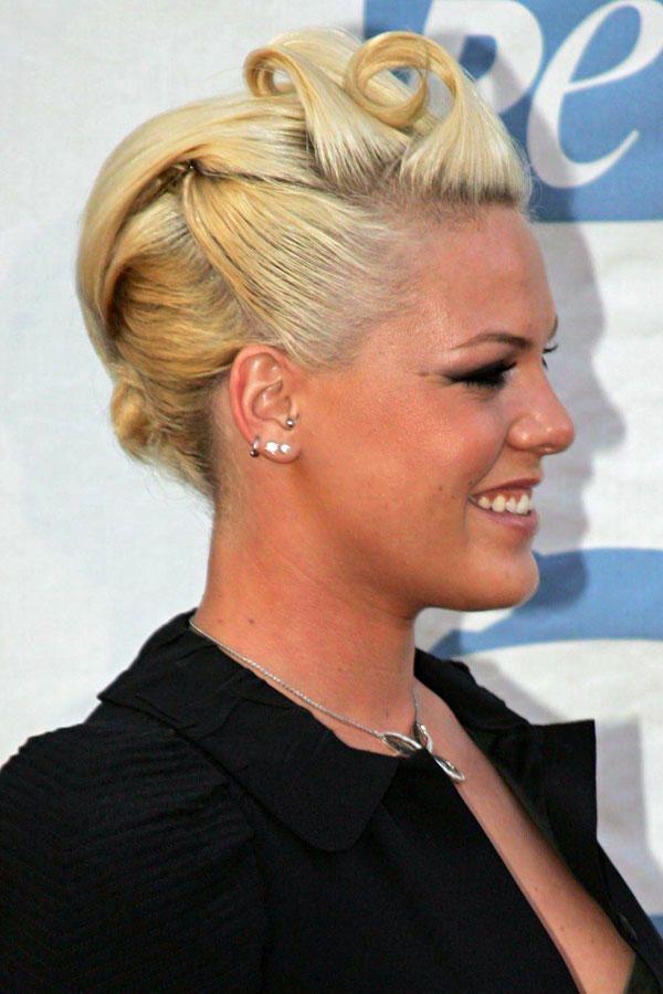 Frisuren Von Pink Frisuren Pinterest