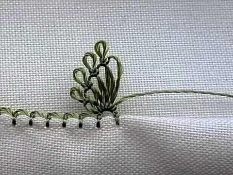 iğne oyası sinek kanadı yapımı videosu /игольное кружево & needle lace & Nadelspitze - YouTube