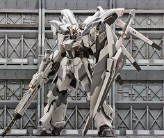 GUNDAM GUY: MG 1/100 Hi-Nu Gundam-S - Custom Build