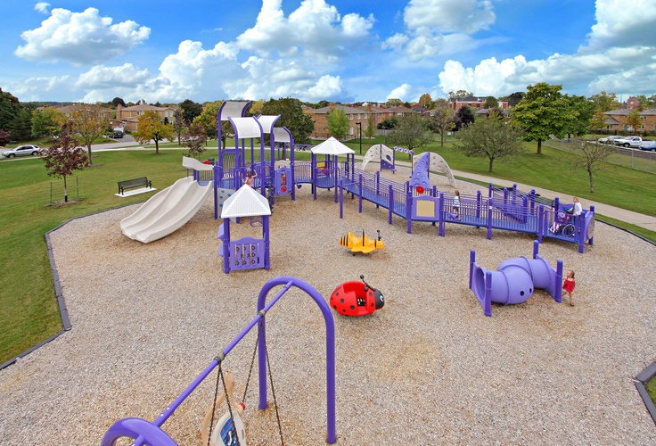 Civic Center Park, Vaughan, Ontario  #kidbuildersinclusive #inclusvieplaygrounds