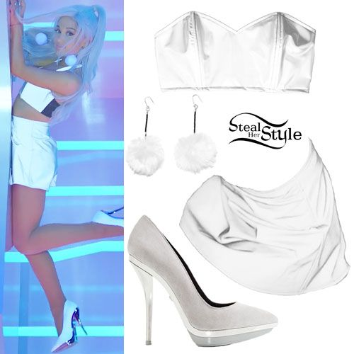 Ariana Grande: 'Focus' Music Video Outfits