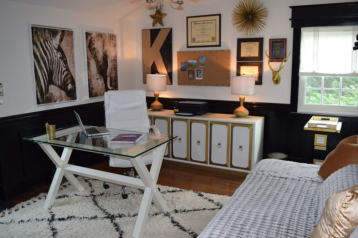 11 best decor home office images on pinterest home ideas home office and work spaces. Black Bedroom Furniture Sets. Home Design Ideas