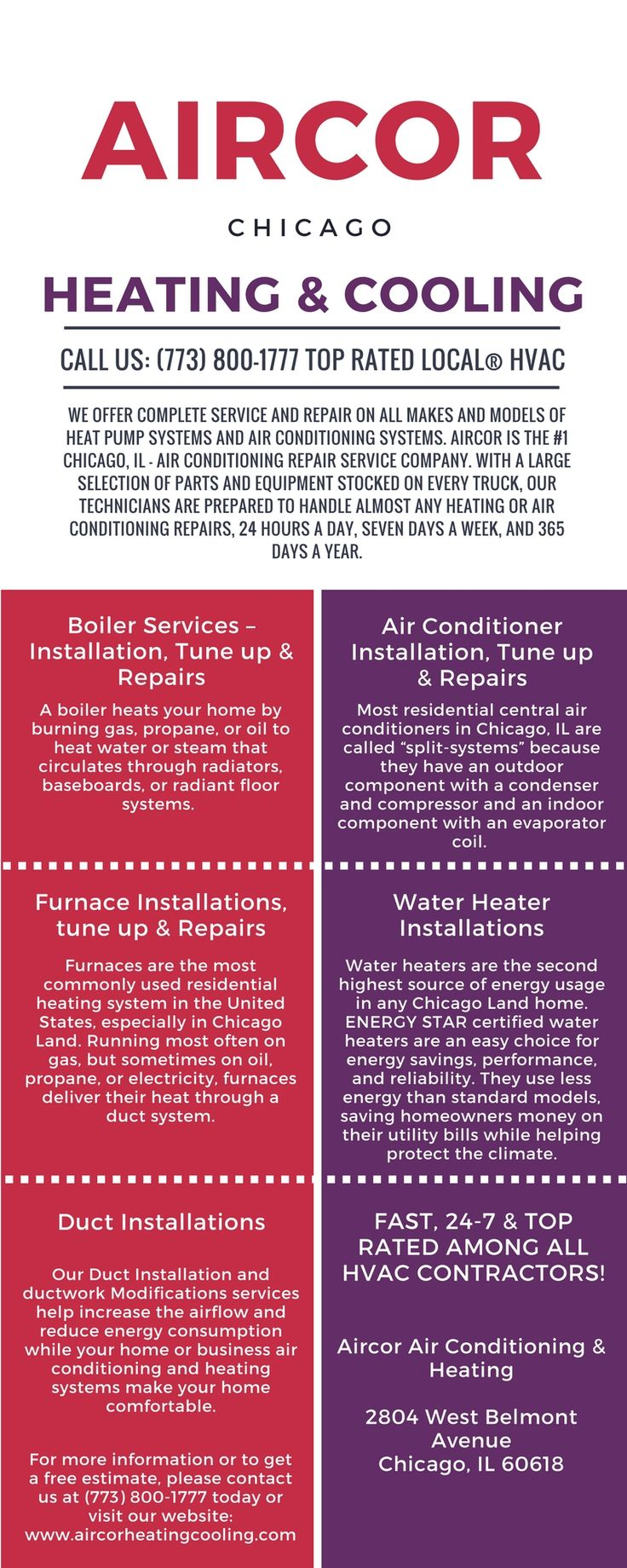 Four seasons heating and air conditioning chicago - Aircor Air Conditioning And Heating Wants You To Enjoy The Comfort And Peace Of Mind Of Breathing Clean Air All The Time Our Mission Is To Create Long
