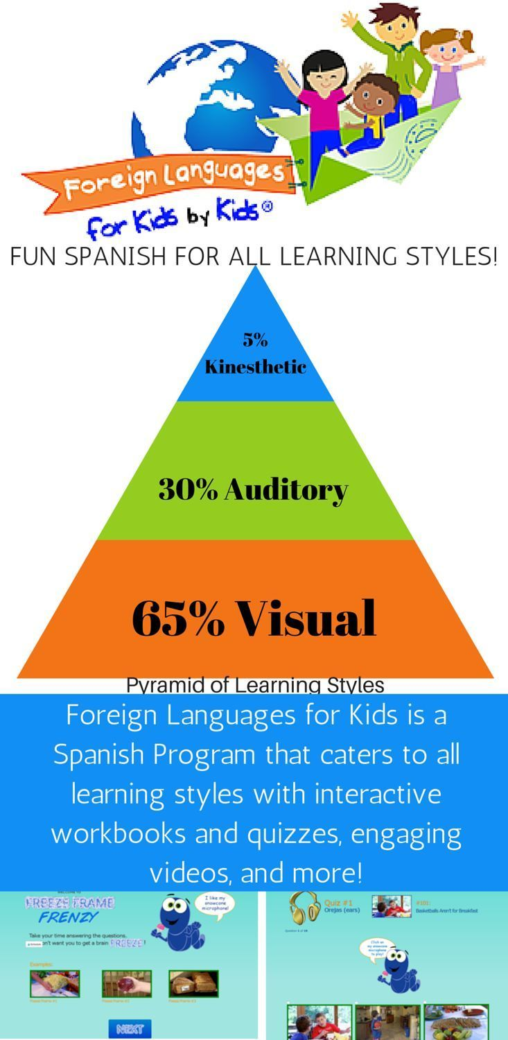 Foreign Languages for Kids: A fun Spanish immersion program for all learning styles!