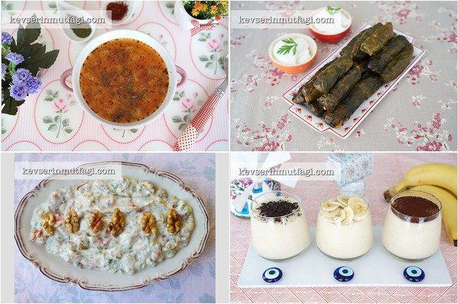 Günün Menüsü 3 Temmuz : Domatesli Kabak Çorbası Tarifi, Pazı Sarması Tarifi, Patlıcan Salatası Tarifi, Ev Yapımı Muzlu Puding Tarifi - Bugün ne pişirsem, Yemek Menüsü, Akşam Yemeği Menüsü, Davet Sofrası, Akşama Ne Yapsam