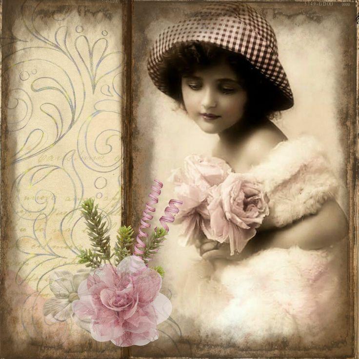Фото винтажные картинки, любовью женщине