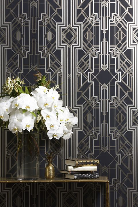 Beautiful wallpaper   How delectable are these wallpaper designs? Created by designer Catherine Martin in collaborati...