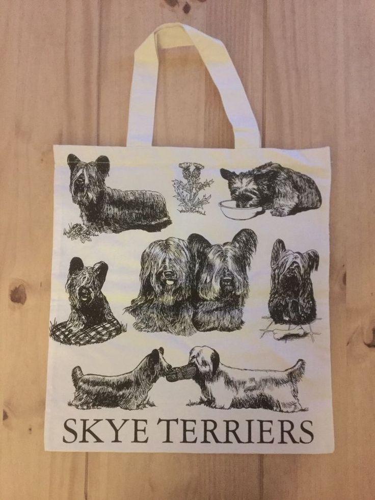 Skye Terrier Calico Bag