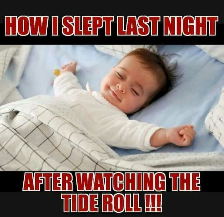 Absolutely! Roll Tide!