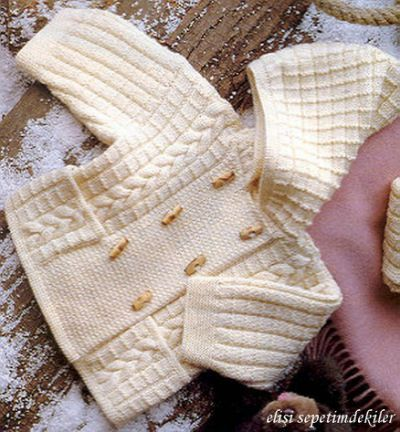 free knitting pattern: boys baby