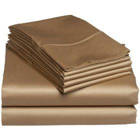 Hot Amazon deal on sheets… Majestic 400 Thread-Count Solid 6-Piece Cotton Sheet Set Was $80, now ONLY $24.44-$26.52!FREE shipping! Hurry and get in on this deal! There are still quite a few colors available. The reviews are excellent too!