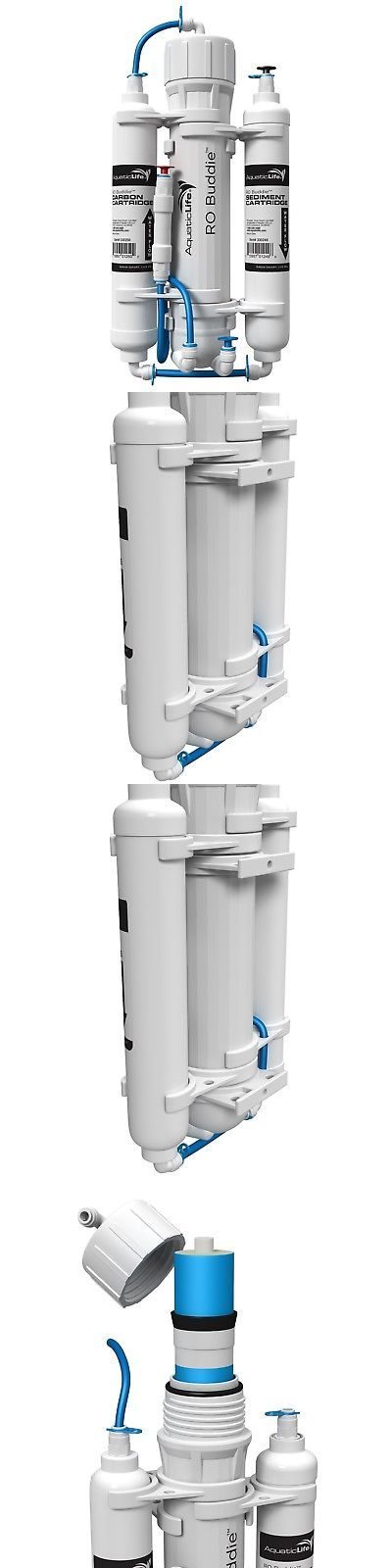 Reverse Osmosis and Deionization 77658: Aquatic Life Ro Buddie Reverse Osmosis Systems 50-Gallon Three Stage -> BUY IT NOW ONLY: $64.41 on eBay!