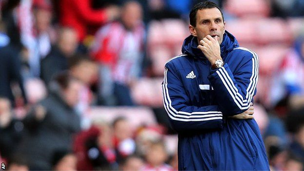 Gus Poyet: Sunderland manager says he will not quit club - Article From BBC Website - http://footballfeeder.co.uk/news/gus-poyet-sunderland-manager-says-he-will-not-quit-club-article-from-bbc-website/