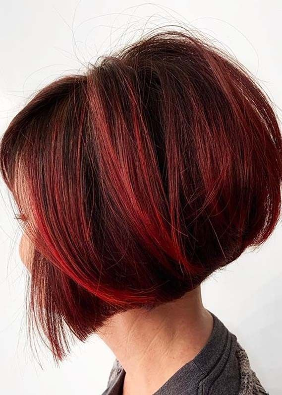 Hottest Short Red Bob Haircuts For Girls To Create In 2020 In 2020 Bob Haircut For Girls Bobs Haircuts Red Bob Haircut
