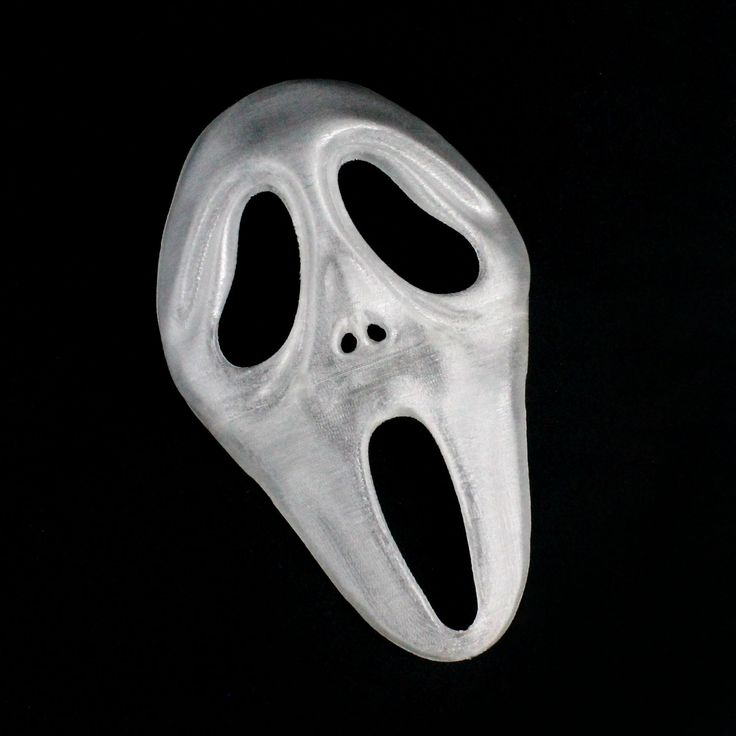 Download Scream / Ghost Face Mask (Full Size) by Benny Normal - MyMiniFactory.com