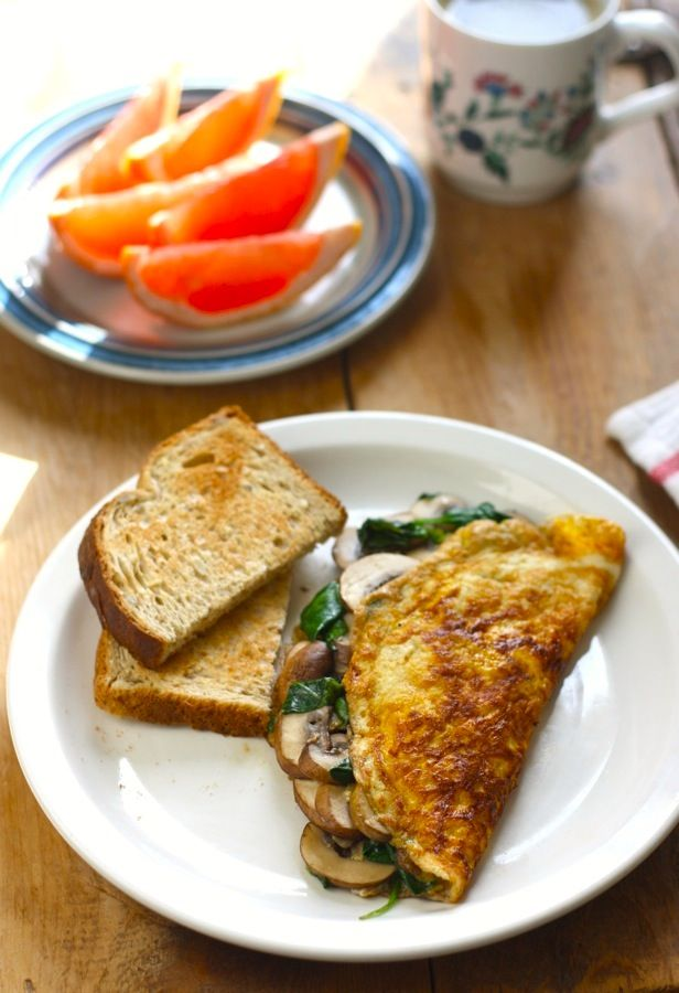 how to make the perfect cheese and mushroom omelette