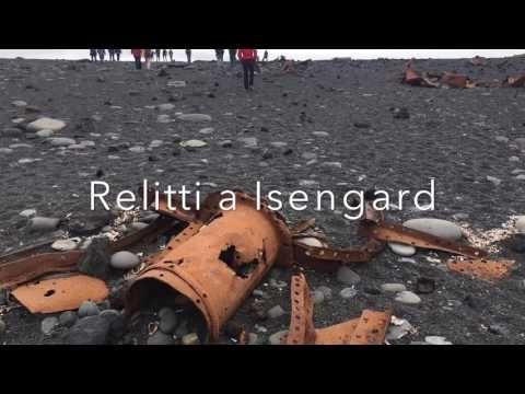 un viaggio in Islanda sulle note della colonna sonora del Signore degli Anelli