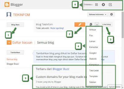 Cara Blog : Membuat Blog Gratis dengan Blogspot