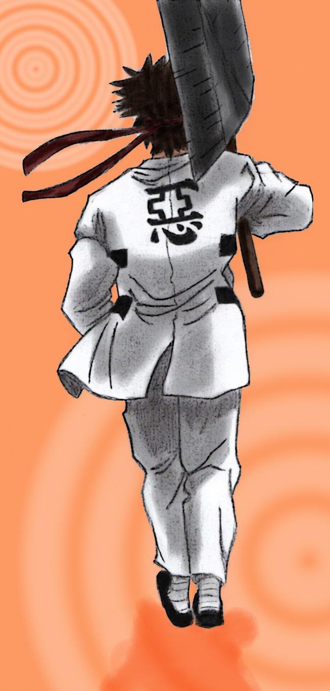 Sanosuke from Rurouni Kenshin