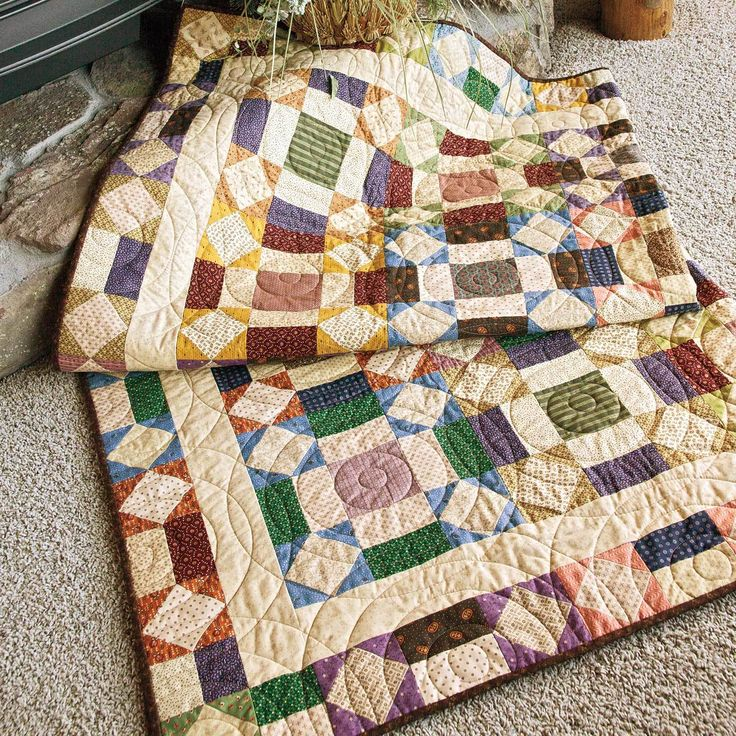 17 Best images about Lap Quilt Patterns and Throws on Pinterest Fat quarters, Mccall s ...