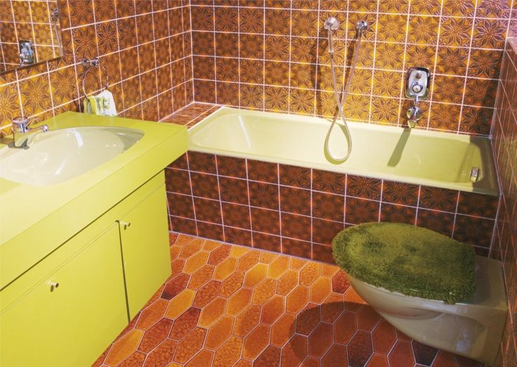 1970s Bathroom Google Search Bathroom Pinterest