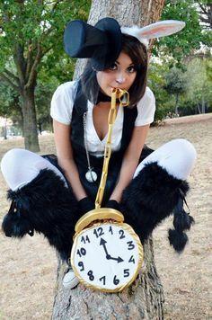 alice in wonderland rabbit costume diy - Google Search