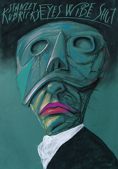 Eyes Wide Shut, Kubrick, Polish Poster (Leszek Zebrowski)