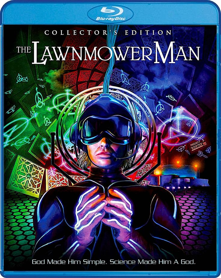 THE LAWNMOWER MAN COLLECTOR'S EDITION BLU-RAY (SCREAM FACTORY)