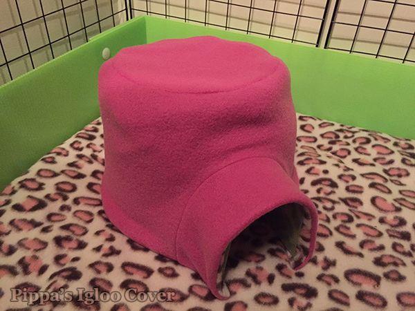 My pippa 39 s homemade igloo cover diy guinea pig items for Homemade guinea pig
