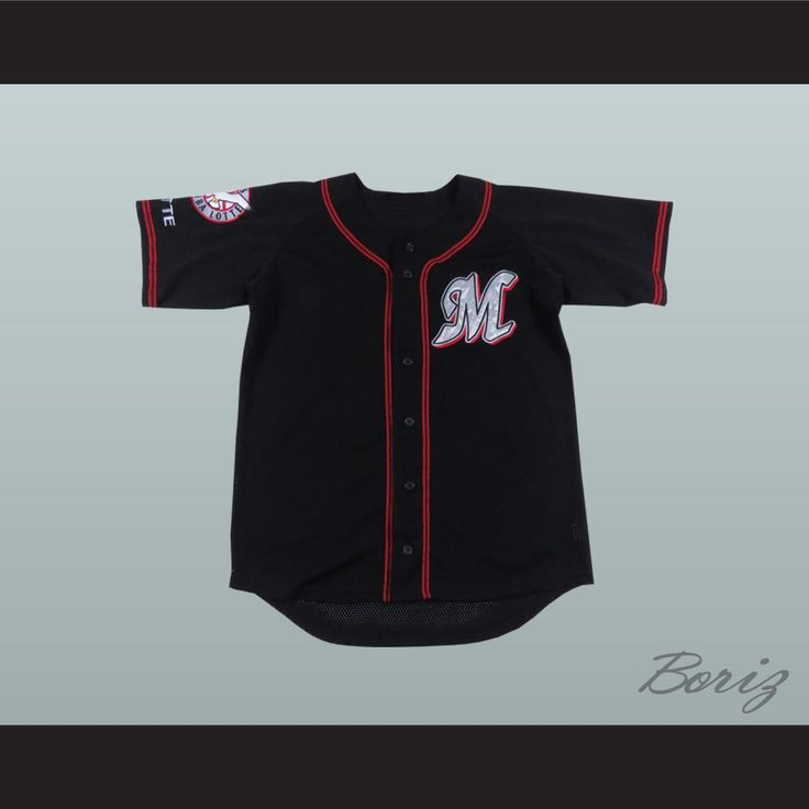 """Chiba Lotte Marines Black Baseball Jersey with Patch. STITCH SEWN GRAPHICS AND EMBROIDERED PATCH CUSTOM BACK NAME CUSTOM BACK NUMBER ALL SIZES AVAILABLE SHIPPING TIME 3-5 WEEKS WITH ONLINE TRACKING NUMBER Be sure to compare your measurements with a jersey that already fits you. Please consider ordering a larger size, if you prefer a loose fit.  HOW TO CALCULATE CHEST SIZE: Width of your Chest plus Width of your Back plus 4 to 6 inches to account for space for a loose fit. Example: 18"""" wide…"""