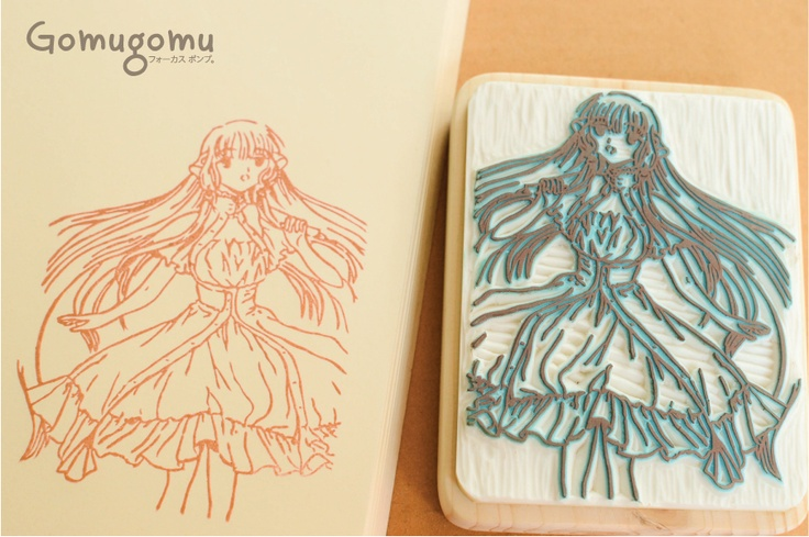 Chii from chobits (back side)