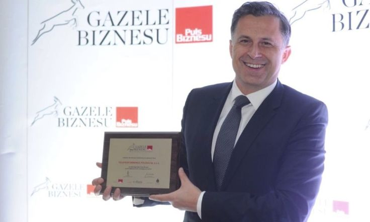 Teleperformance Polska z tytułem Gazeli Biznesu 2016.