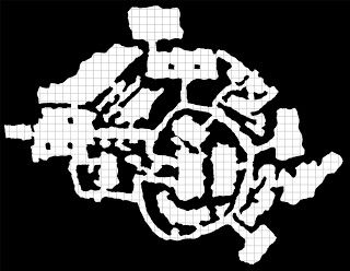 PLANET ALGOL: Planet Algol Preview Dungeon Map