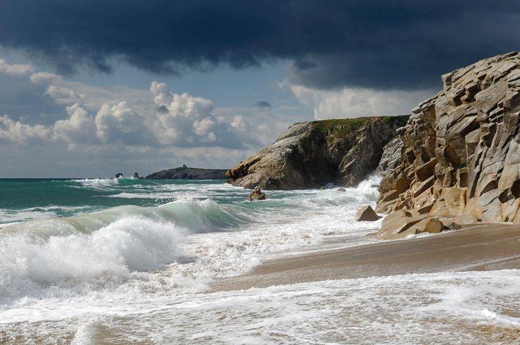 Quiberon. Face à la Mer Sauvage...