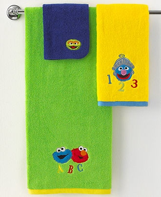 Gentil Jay Franco Bath, Sesame Street Retro Collection     Macyu0027s