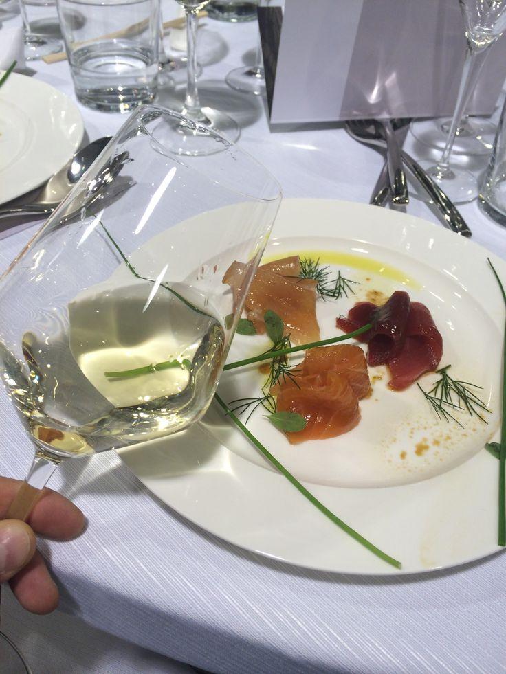 Insolia Principi di Butera and marinated sashimi: what a match! Chef Fushiki collaboration dinner with casa Vinicola Zonin.