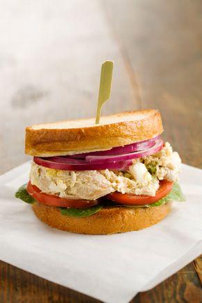 Paula+Deen+Jamies+Chicken+Salad+Sandwich