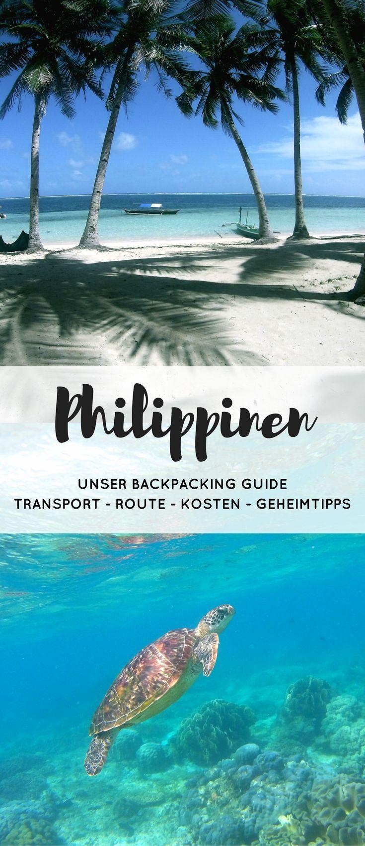 Alles für deine individuelle Reise auf den Philippinen. Mit Tipps für Routen, Highlights und Vorstellung der Inseln Siquijor, Siargao, Apo Island, Bohol und Cebu. So wird dein Urlaub auf den Philippinen unvergesslich. #reisebericht #urlaub #backpacking #philippines