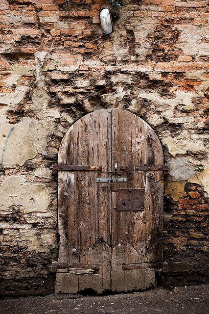 Rustic door.