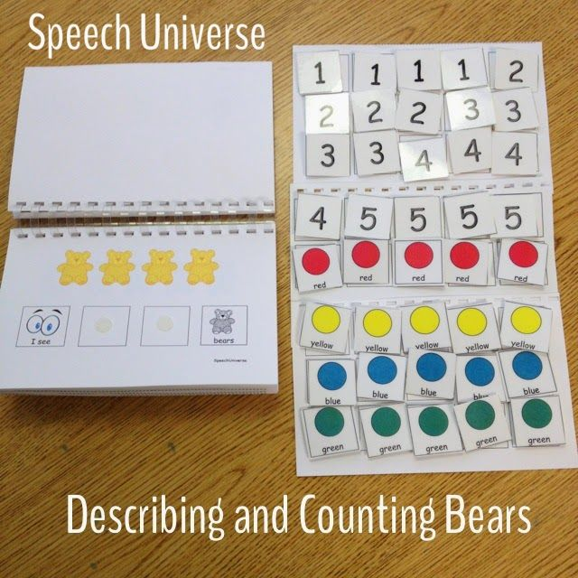 Speech Universe: Describing and Counting Bears