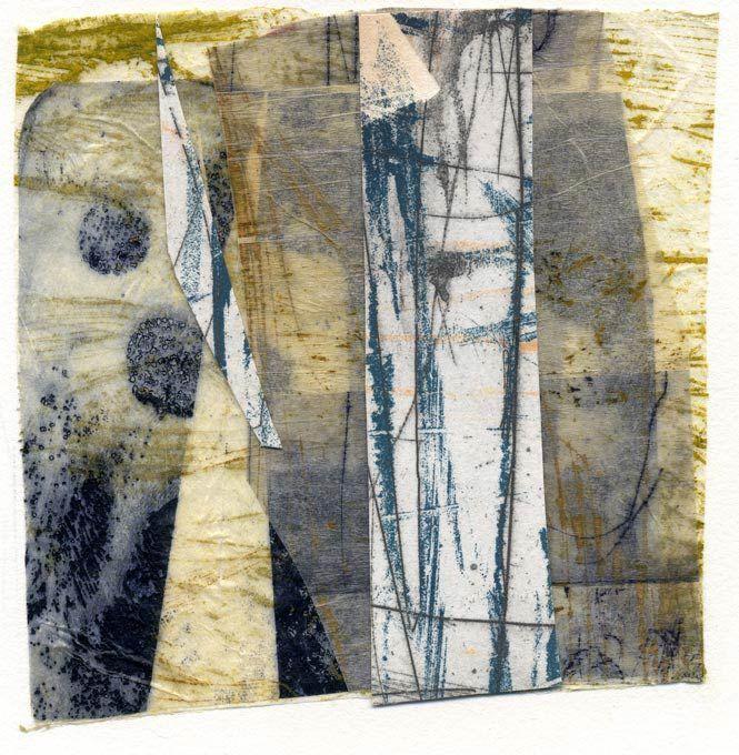 Hidden, intaglio print by Masha Ryskin