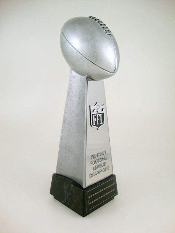 Fantasy Football Championship Perpetual Trophy Add-On Plate