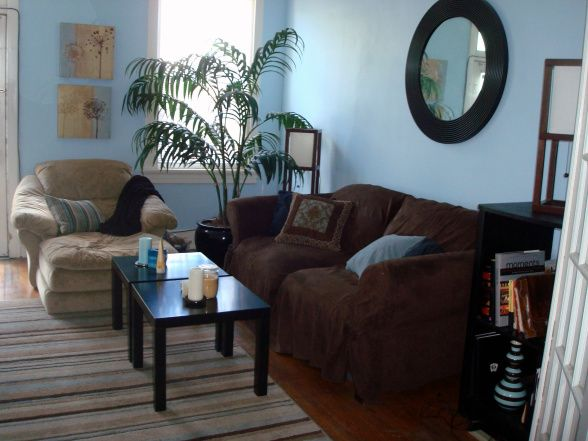 Best Blue Brown And Tan Living Room This Is The Living Room 640 x 480