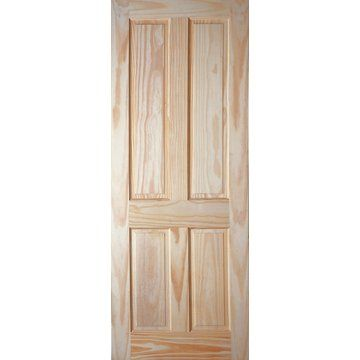 Image of 4 Panel Clear Pine Door
