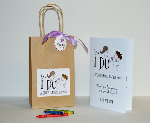 Kids Wedding Gifts: 17 Best Ideas About Kids Wedding Favors On Pinterest