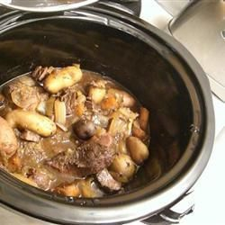 Ragoût de chevreuil à la mijoteuse