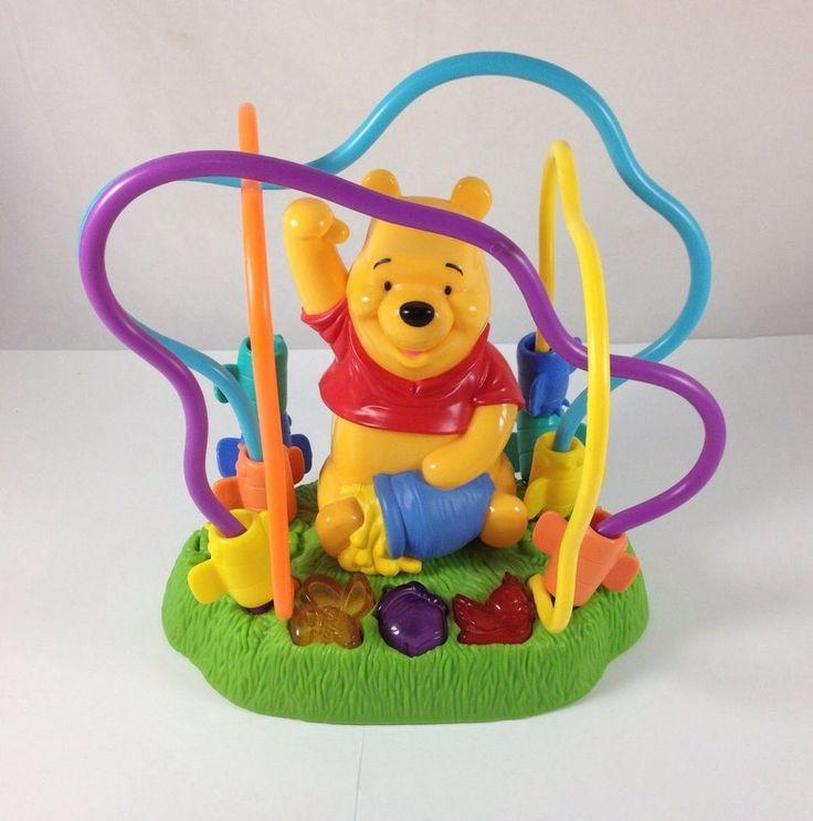 Disney Winnie The Pooh Honey Bees Talking Childrens Baby Toy Puzzle 2000 Mattel | eBay