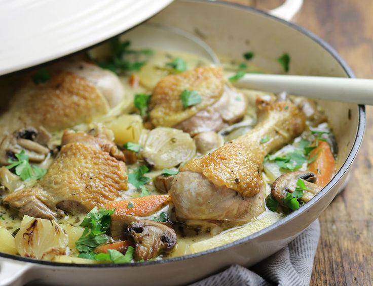 French Farmhouse Chicken Casserole Recipe | Abel