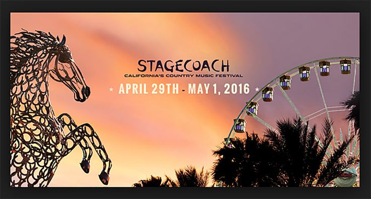 The Palm Springs Valley's Stagecoach 2016 Lineup Unveiled