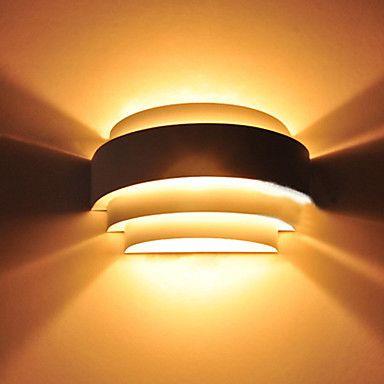 [XmasSale]Wall Light, 1 Light,Modern Metal Anodized Polishing - USD $ 31.99